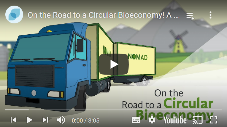 Screenshot of the NOMAD introductory video